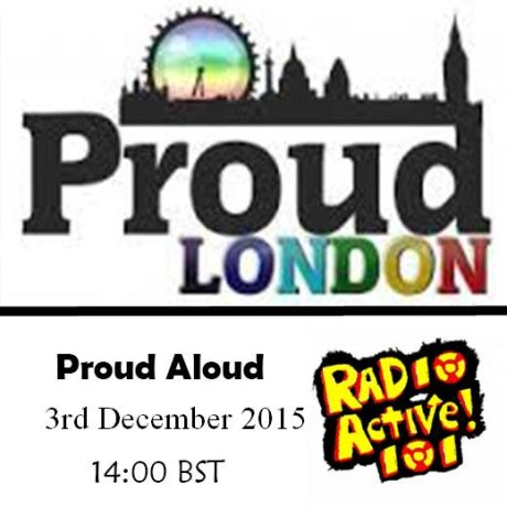 Proud Aloud – 'Coming Out' 3 Dec 2015