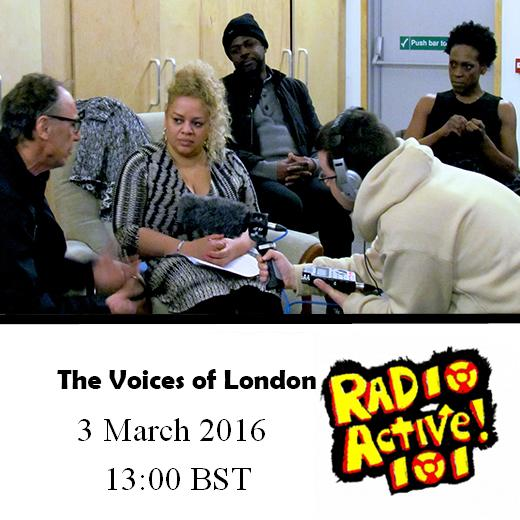 The Voices of London: an evening of real stories