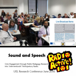 Research Conference RadioActive101 29 June 2016
