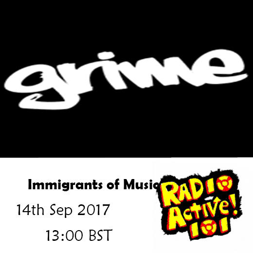 On Air – 14 Sep – Immigrants of Music: from Busking to Grime