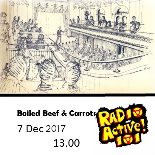 On Air – 13:00 – 'Boiled Beef & Carrots'